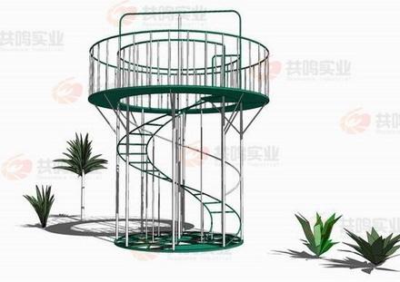 GMD013-渡海登岛-螺旋梯