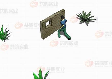 GMD012-百米障碍-矮墙