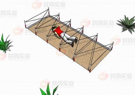 GMD012-百米障碍-低桩网