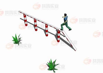 GMD012-百米障碍-独木桥