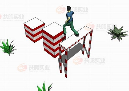 GMD012-百米障碍-高板跳台