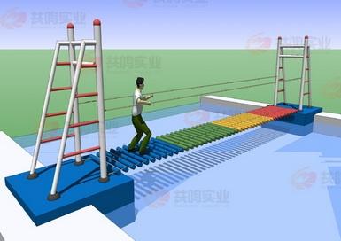 GMF012-水上泸定桥