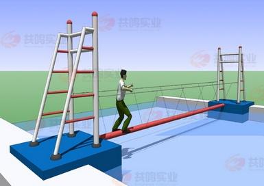 GMF015-水上独木桥