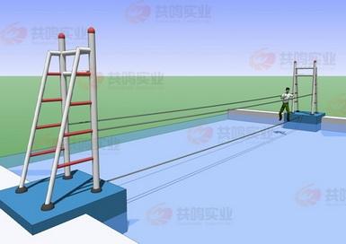 GMF016-水上钢丝桥