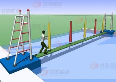 GMF021-水上软桥